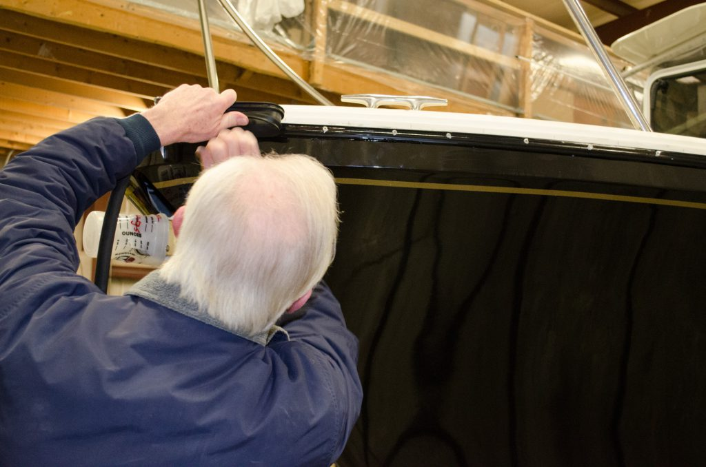 Installing a New Rub Rail on the Black Watch 26 - TotalBoat