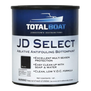 TotalBoat JD Select water based Bottom Paint Quart