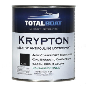 TotalBoat Krypton Copper-Free Ablative Antifouling Bottom Paint Quart