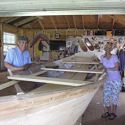 Kent Audrey Lewis Small Boat Restoration Totalboat