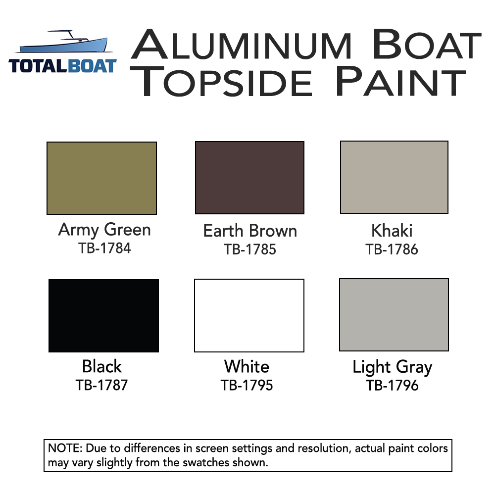 Boat paint color chart image collections free any chart examples totalboat aluminum boat topside paint totalboat aluminum boat topside paint color chart nvjuhfo image collections nvjuhfo Choice Image
