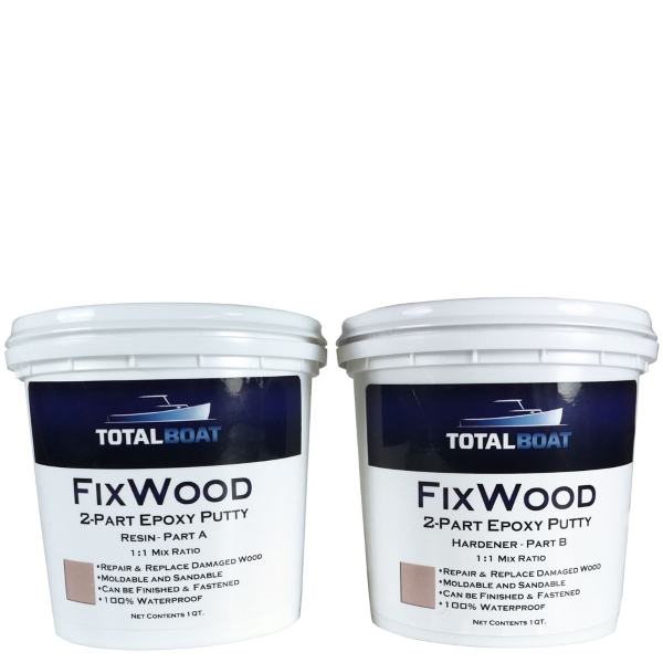 Totalboat Fixwood Wood Repair Epoxy Putty