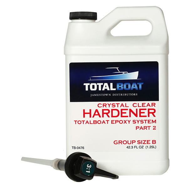 Totalboat Crystal Clear Hardener Group Size B