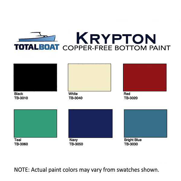 Totalboat Krypton Boat Bottom Paint Copper Free Antifouling