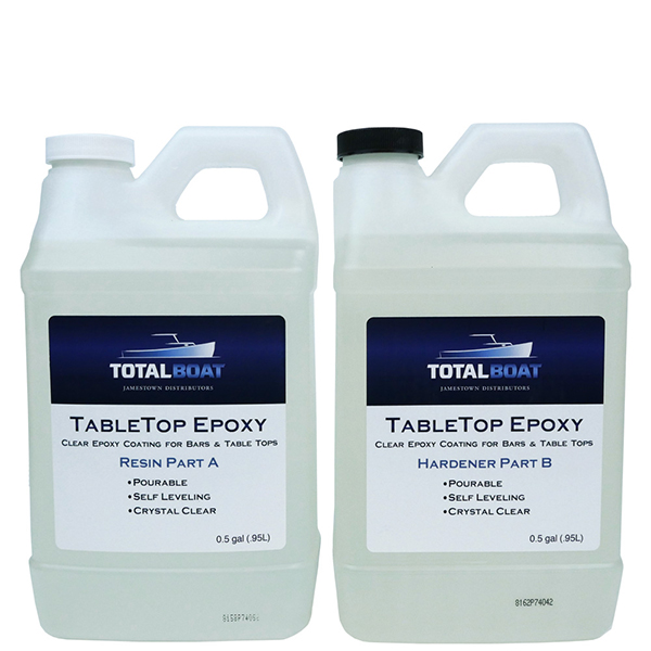 3f9ee8a103f141 TotalBoat TableTop EpoxyGallon Kit