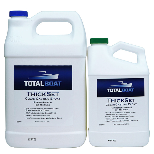 ThickSet Clear Deep Casting Epoxy