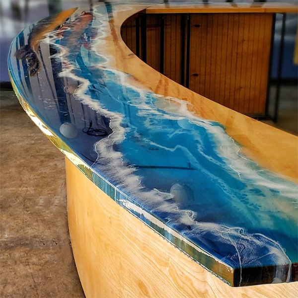 Totalboat Tabletop Epoxy Clear Self Leveling Bar Top Resin